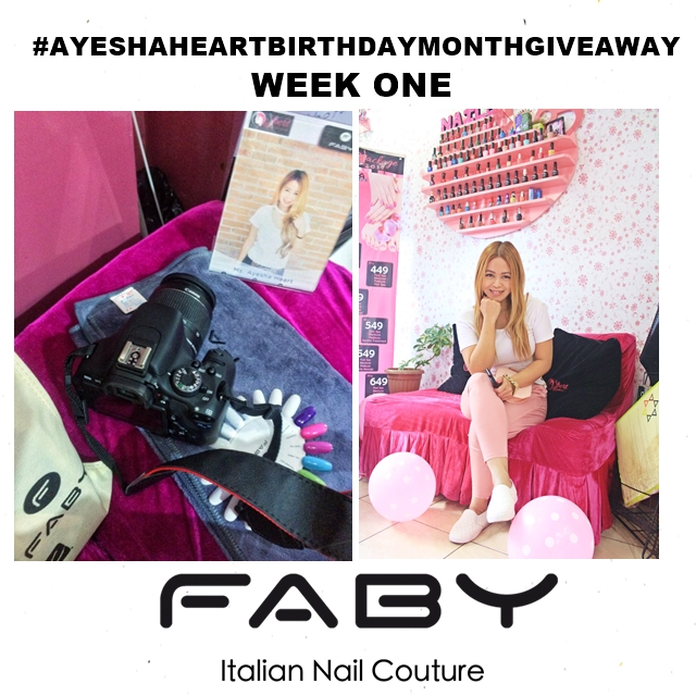 AyeshaHeart Birthday Month Giveaway Week#1